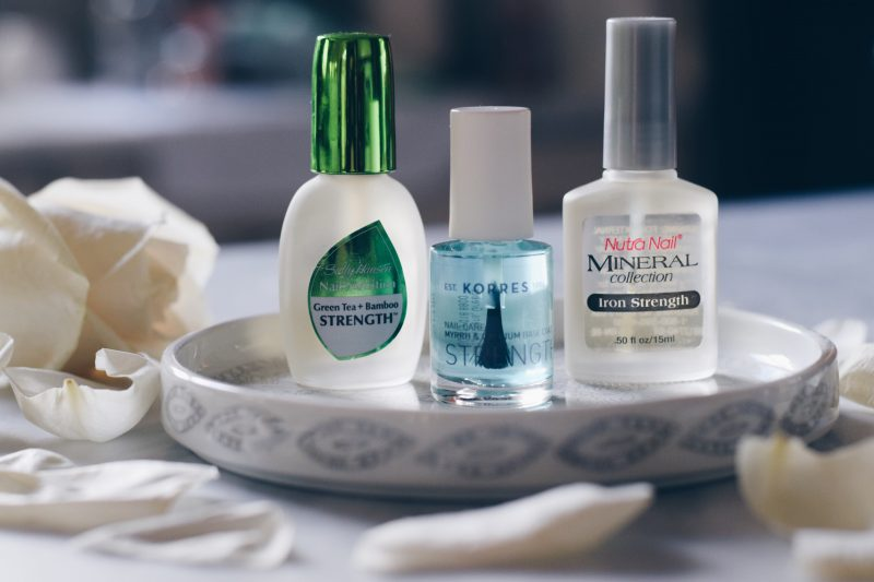 GROWING STRONGER & HEALTHIER NAILS