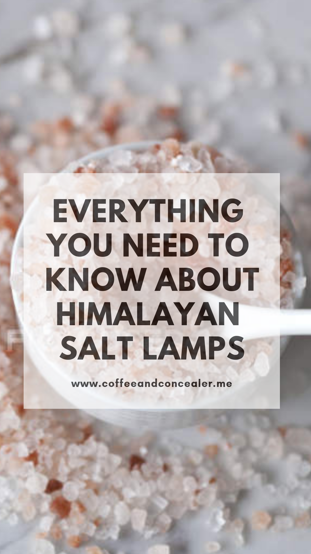 Salt Lamps Are The Antidepressant You Never Knew You Needed